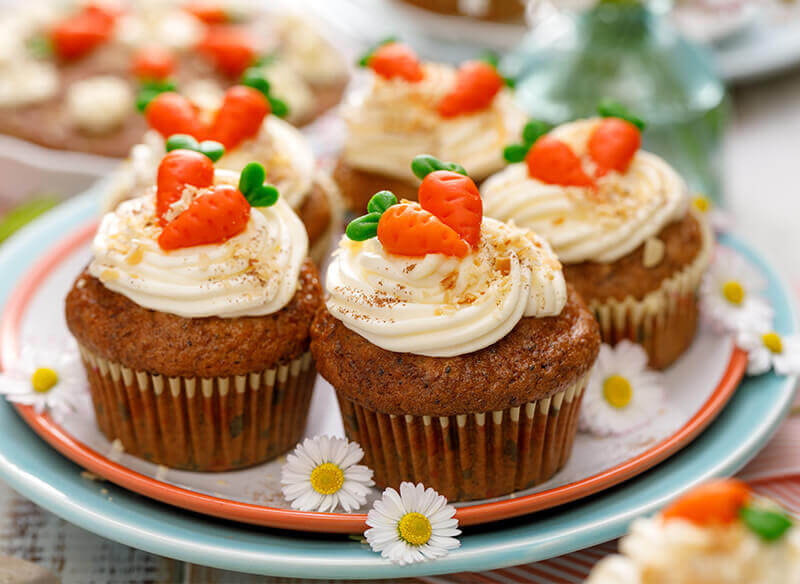 traditional dishes for Easter dinner cupcakes